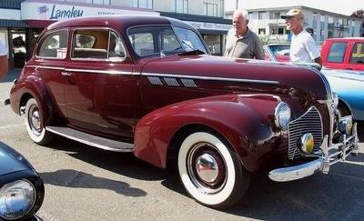 Antigomodelismo pontiac dos anos de 1926 at 1950 for 1940 pontiac 2 door sedan